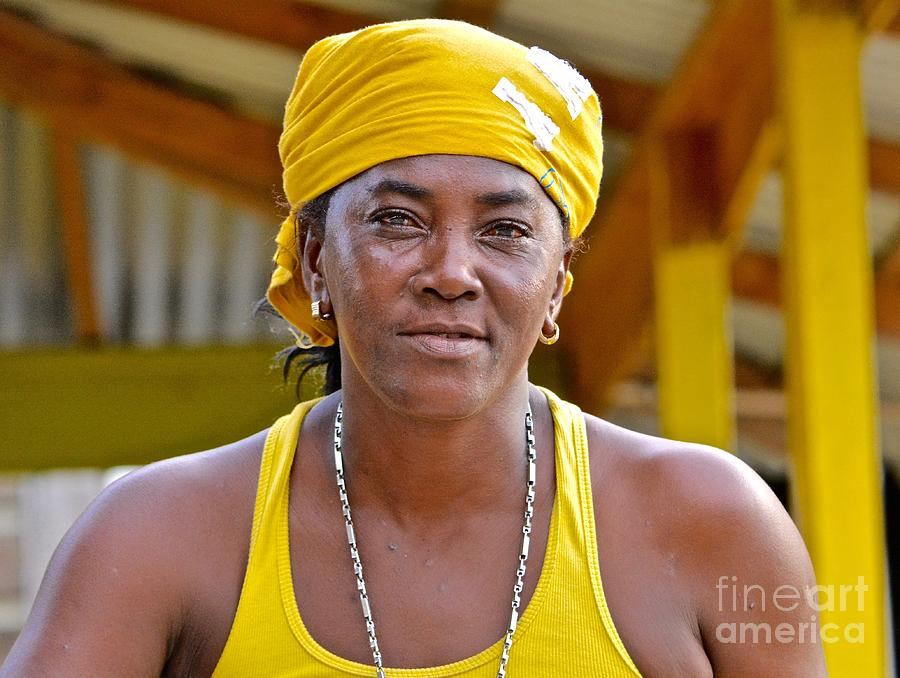 Negril Photograph - Strong Woman by Andrea Spritzer