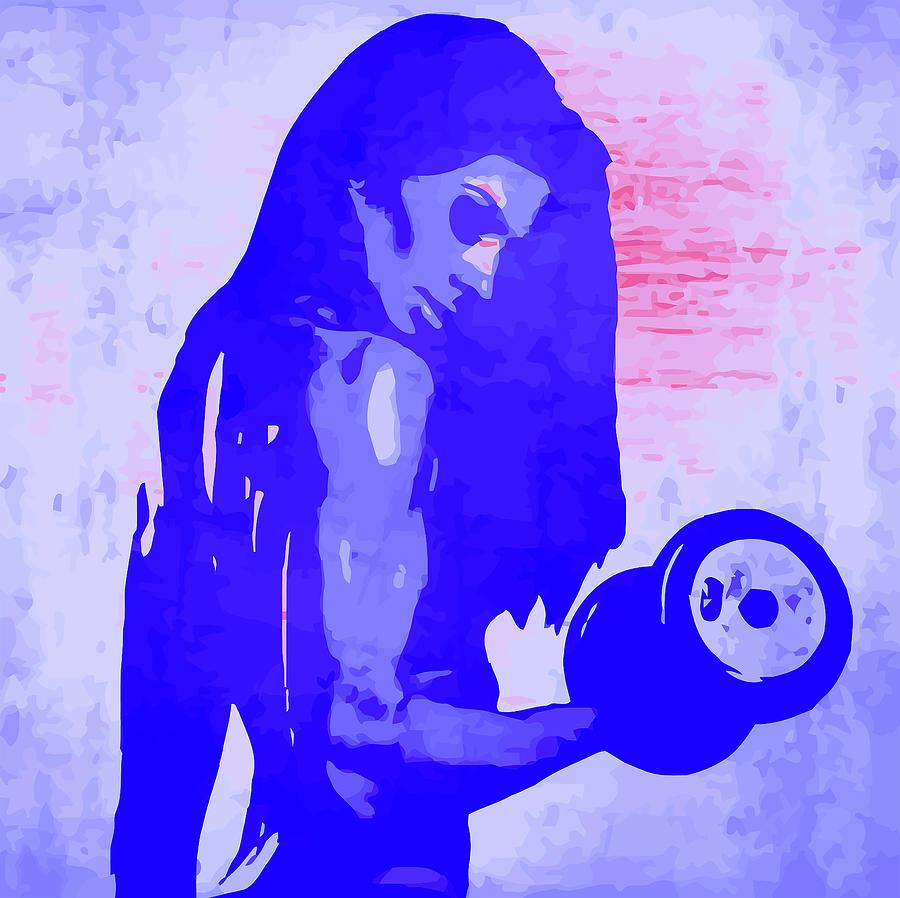 Woman Digital Art - Strong Women 5 by John Novis