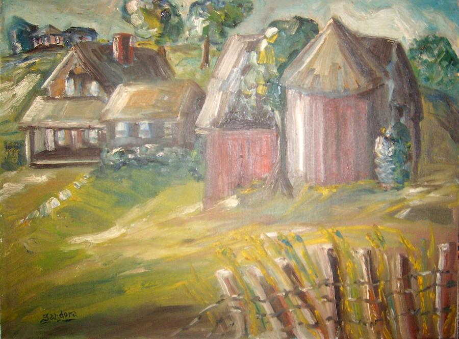 Stroudwater Farm 3 Painting by Joseph Sandora Jr