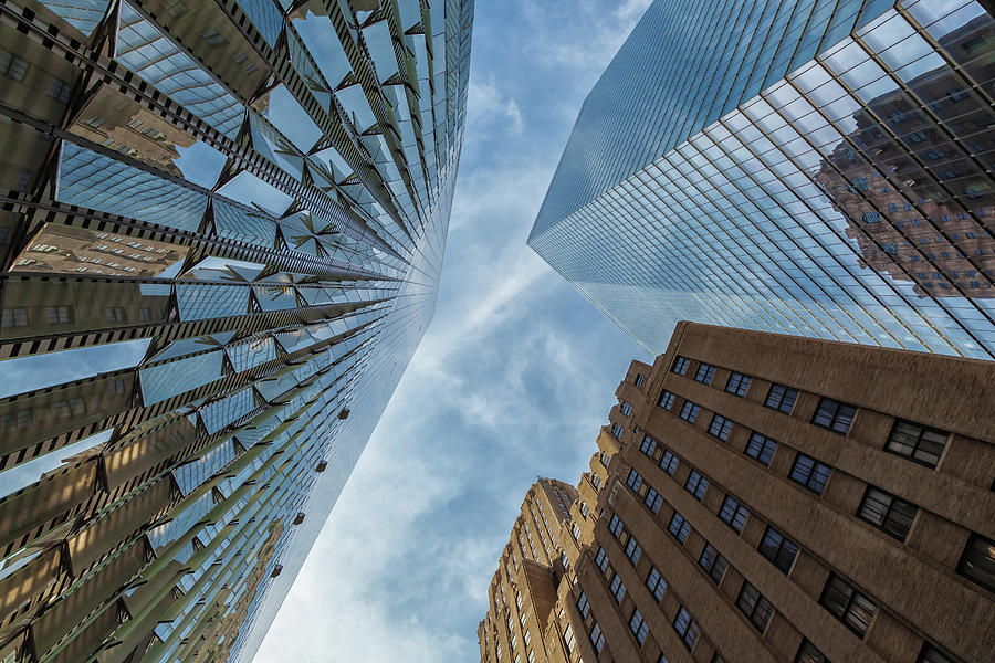 City Photograph - Structures Of Nyc 6  by Jonathan Nguyen