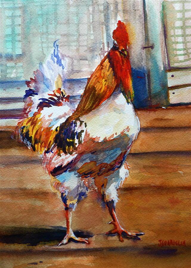 Struttin Painting by Joyce A Guariglia