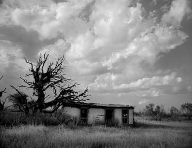 Texas Photograph - Stucco House by Joe Miller