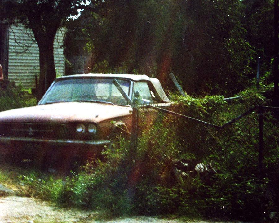 Car Photograph - Stuck In Desire by Jennifer Ott