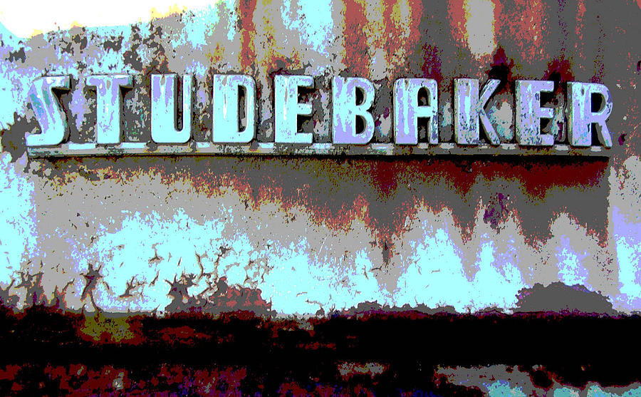 Car Photograph - Studebaker  by Audrey Venute