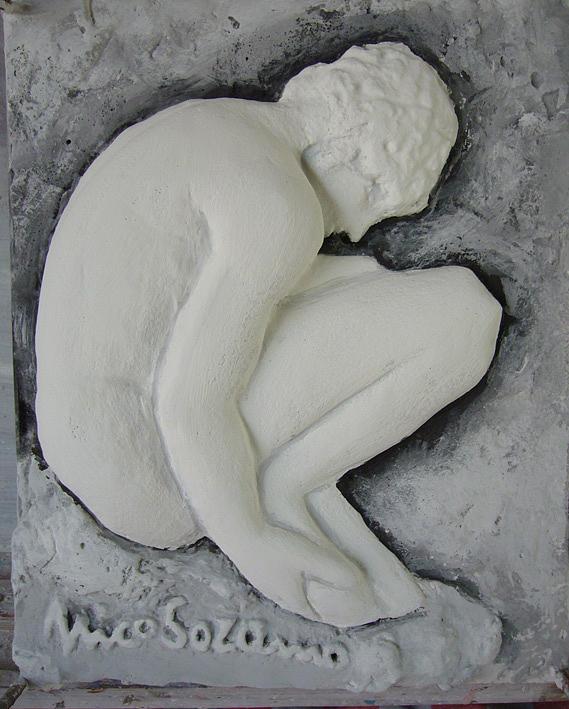 Sculpture Relief - Studio 5 by Nico Soranno