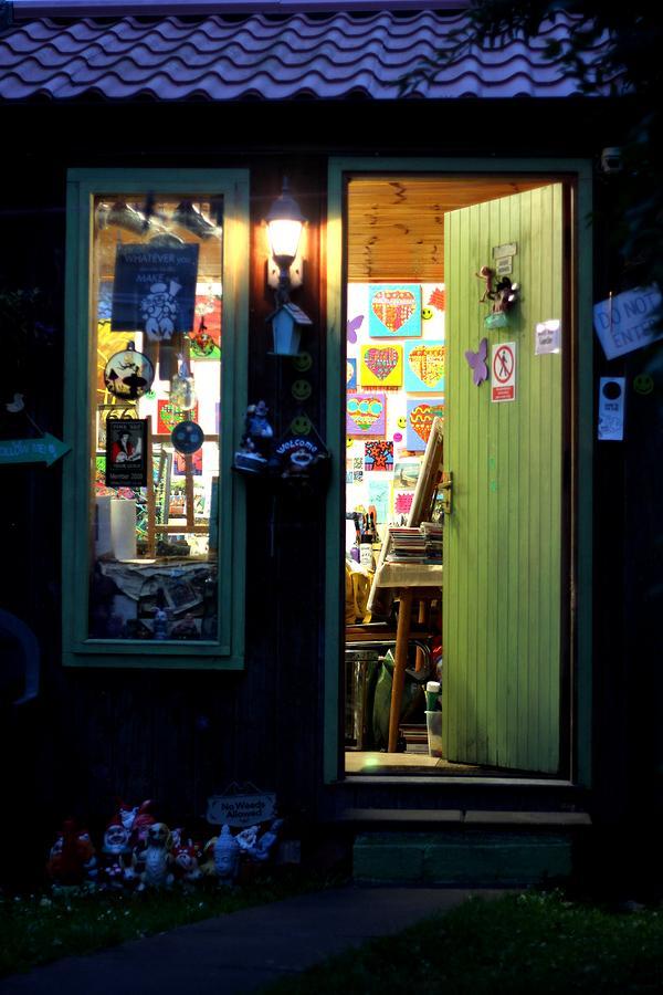 Restaurant Photograph - Studio Door by John  Nolan