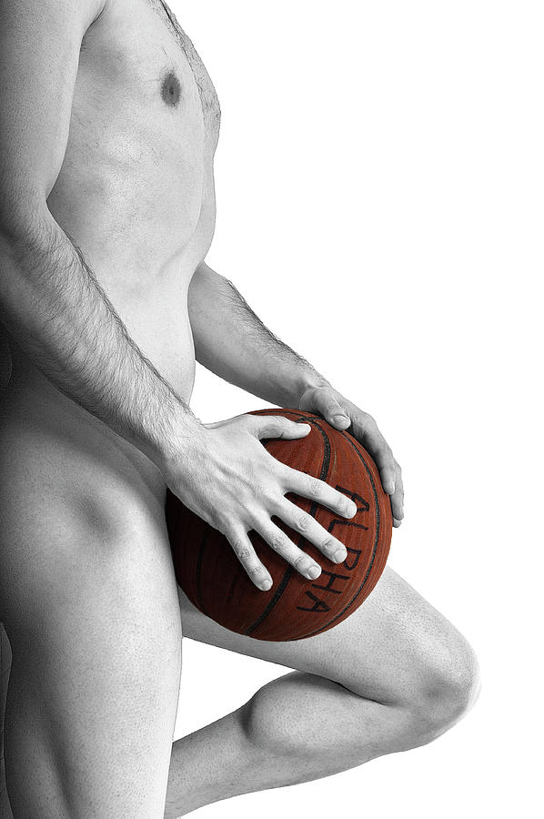 Nude Photograph - Studio Nude - Yanni No. 1 - The Alpha Male by Paul W Sharpe Aka Wizard of Wonders