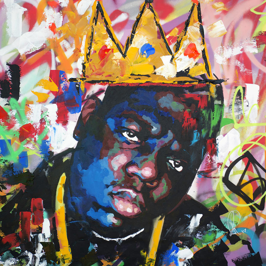 biggie smalls painting by richard day