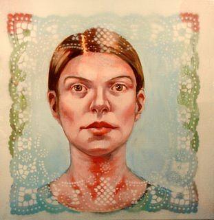 Portrait Painting - Study 3 by Rachel Aponte