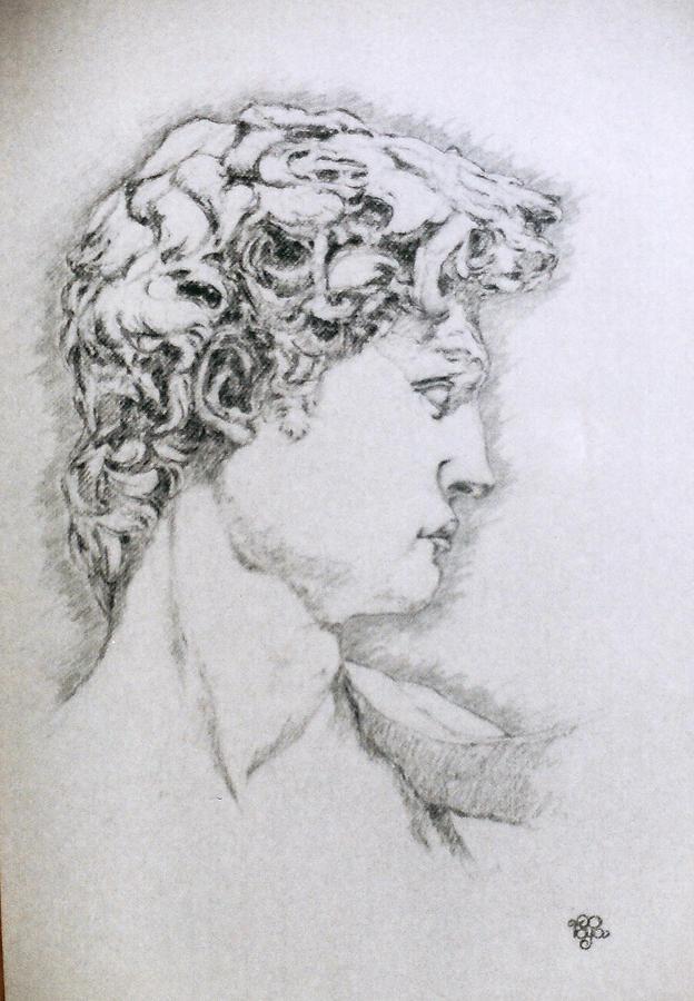 Portrait Pastel - Study 34 by Mohd Raza-ul Karim