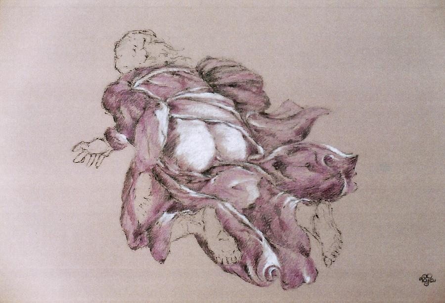 Figure Pastel - Study 37 by Mohd Raza-ul Karim