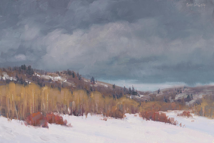 Study For Early Winter Painting
