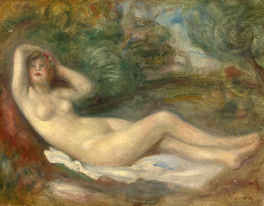 Large Nude And Renoir's Intersection Of Classic And Impressionist Painting