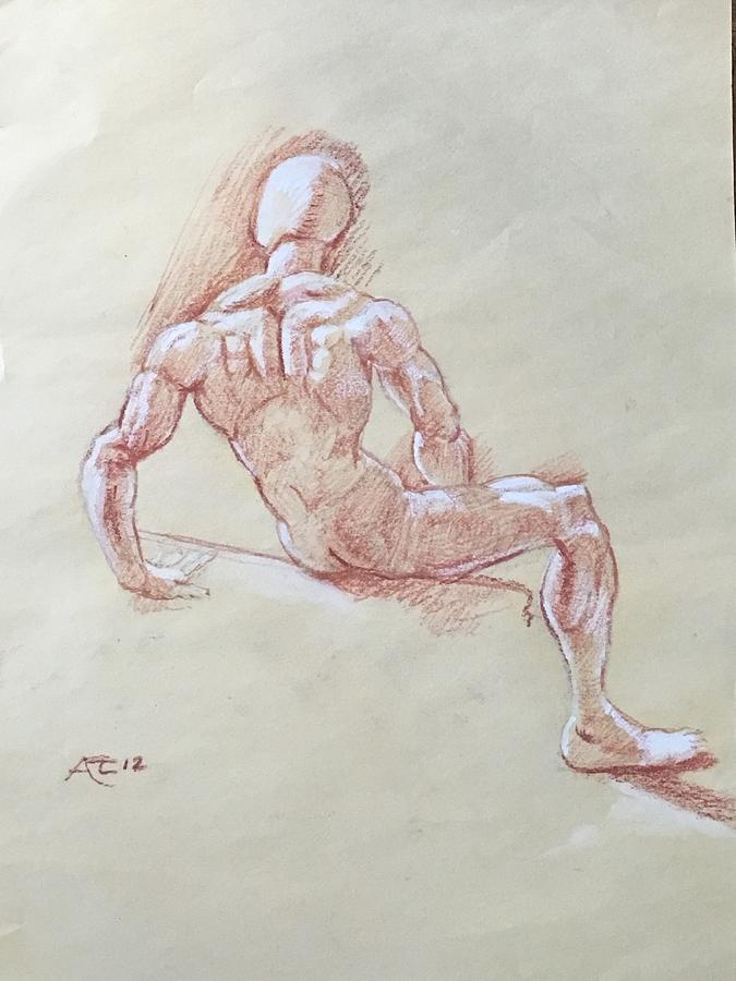 Study of manikin by Alejandro Lopez-Tasso