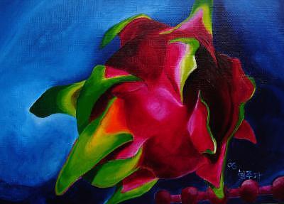Study Of Pitaya3 Painting by Hyon Joo Kim