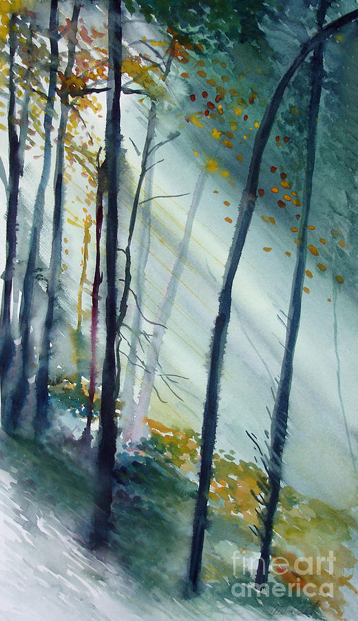 Study The Trees Painting