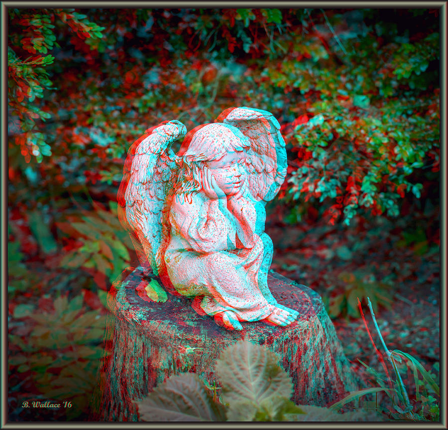 Use Red-Cyan 3D Glasses Photograph By Brian Wallace