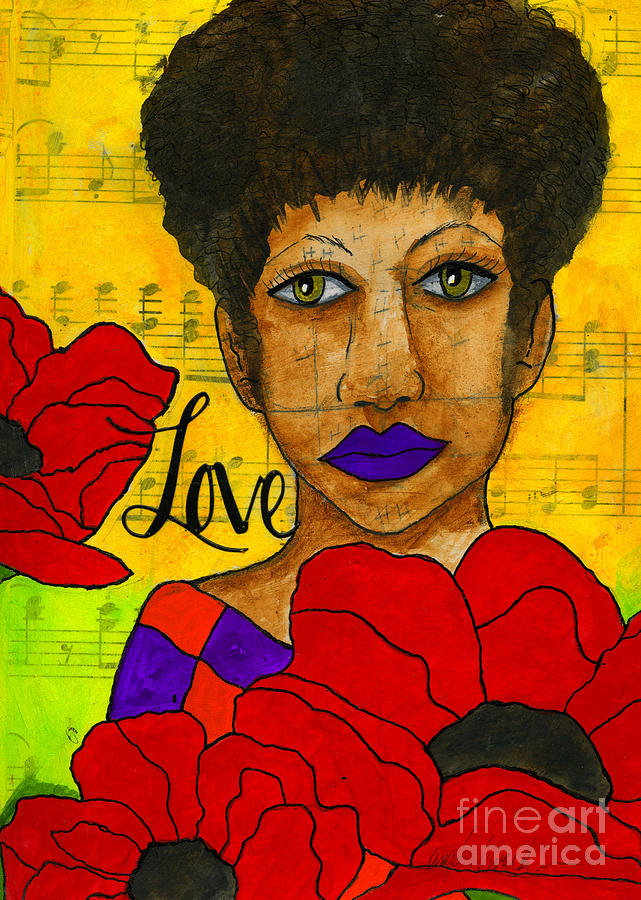 Stung By Love Mixed Media