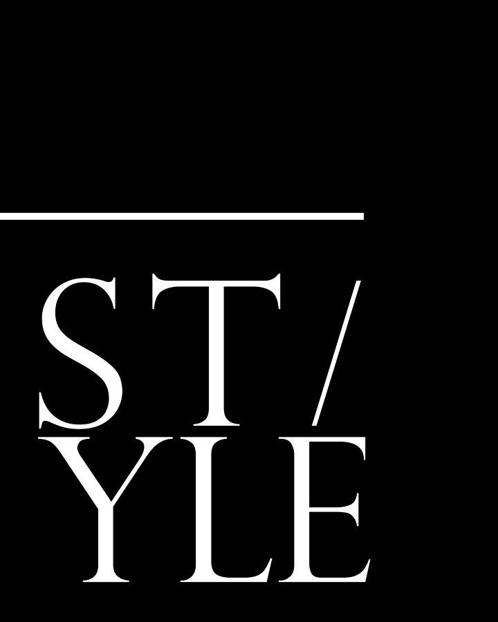 Trend Mixed Media - Style 1 - Minimalist Print - Typography - Quote Poster by Studio Grafiikka