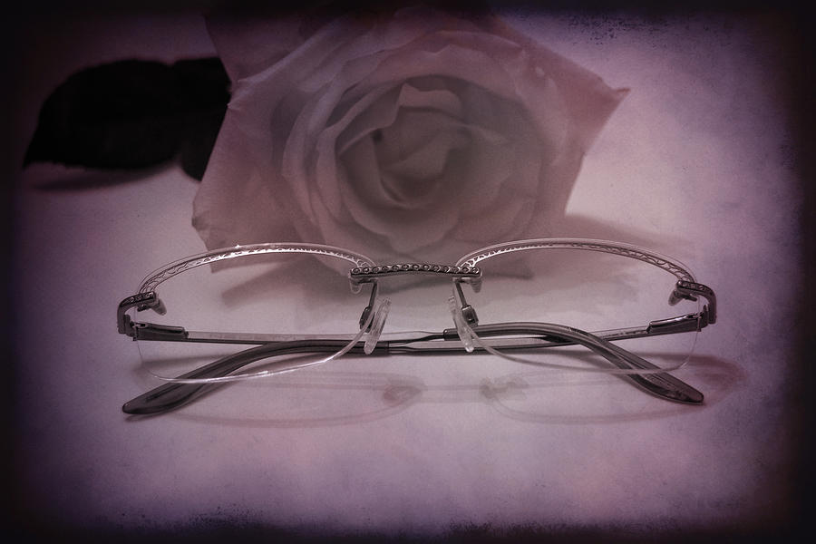 Vintage Photograph - Stylish Specs by Rozalia Toth