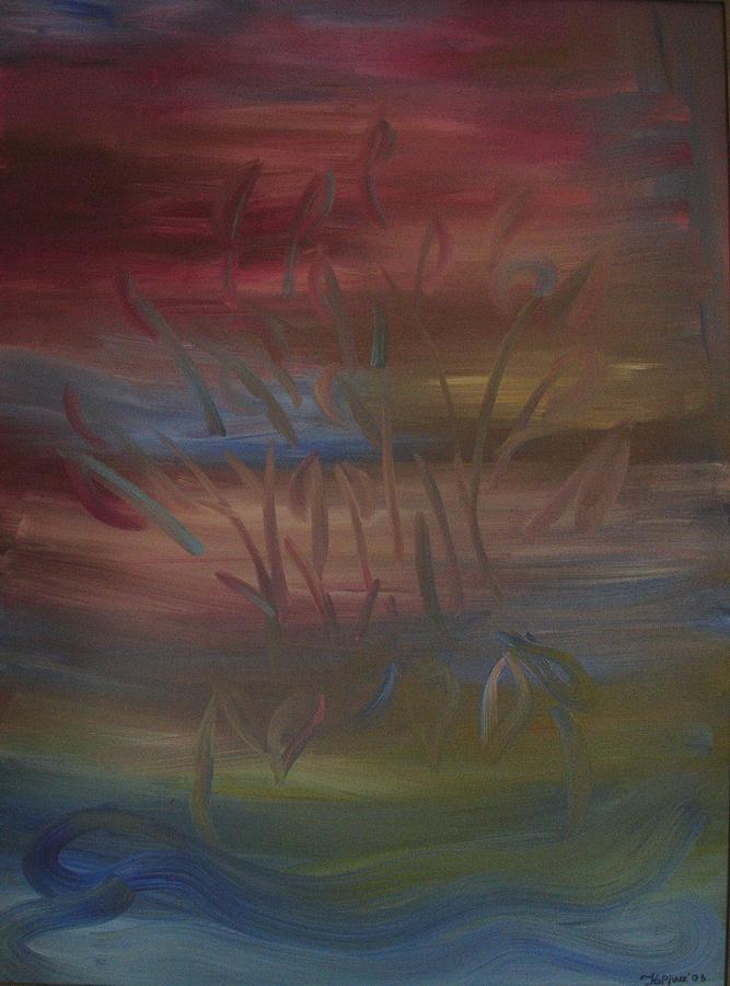 Still Life Painting - Subaqueous by Korinna Kostaina