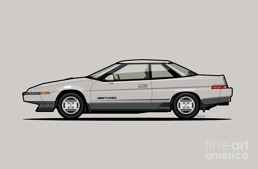 Subaru Alcyone XT-Turbo Vortex Silver by Monkey Crisis On Mars