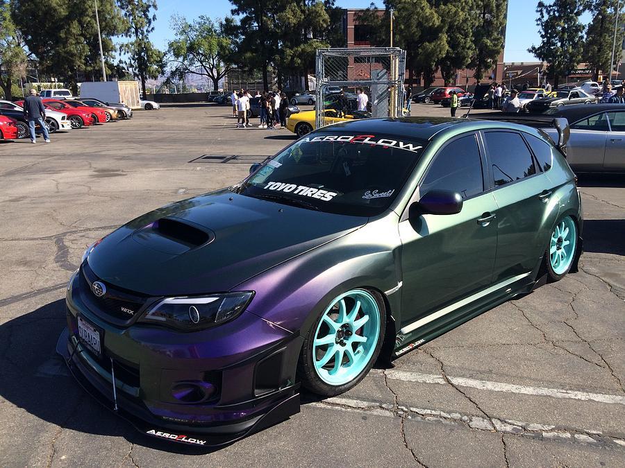 Subaru Wrx Custom Photograph By Mag Autosport