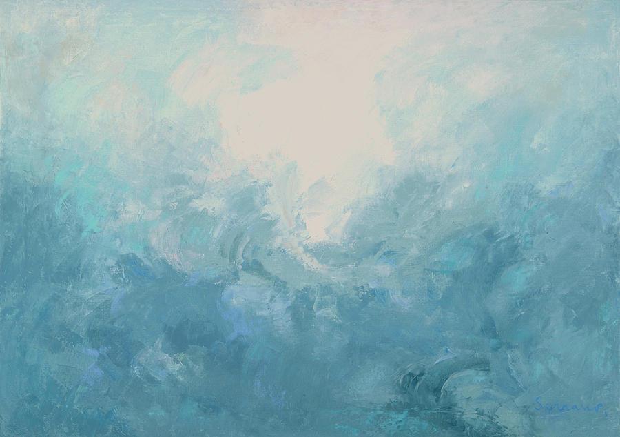 Sublimation Painting - Sublimacion by Guillermo Serrano de Entrambasaguas