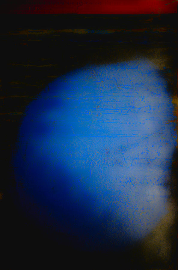 Mat Photograph - Subtext No. 12282015 The Bluest Moon by Kenneth rst Vick