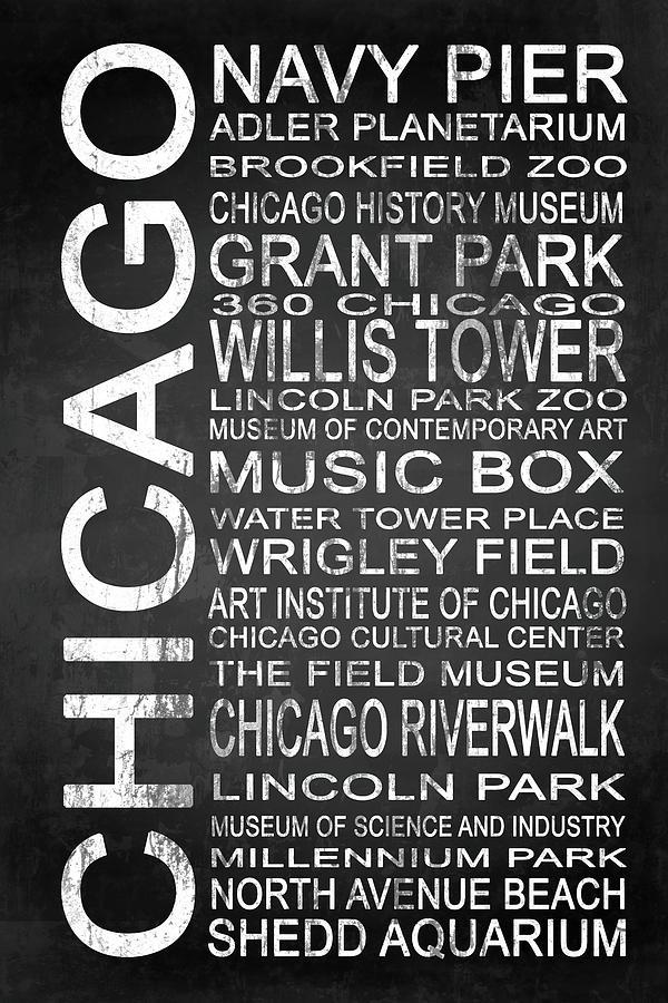 360 Chicago Digital Art - Subway Chicago 1 by Melissa Smith