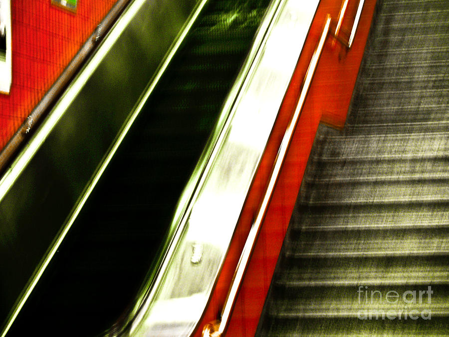 Abstract Photograph - Subway  by Emilio Lovisa