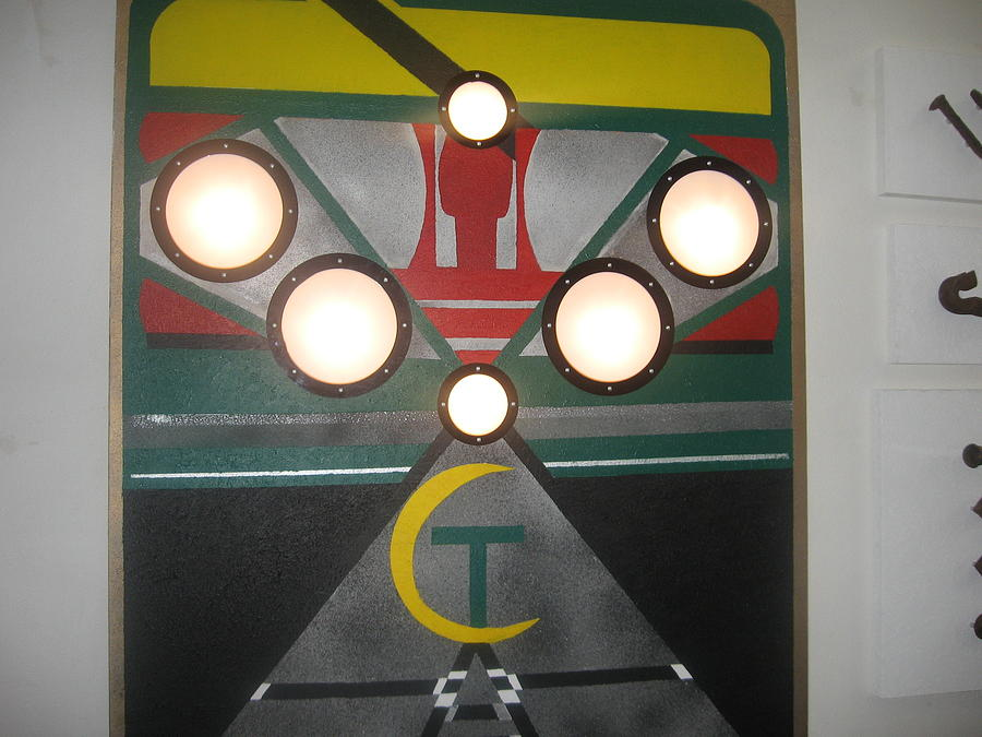 Transit Mixed Media - Subway by Michael Copeland Sydnor