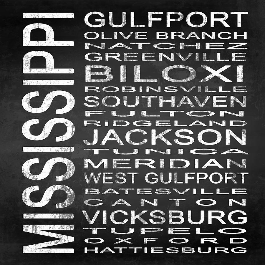 Subway Sign Digital Art - Subway Mississippi State Square by Melissa Smith