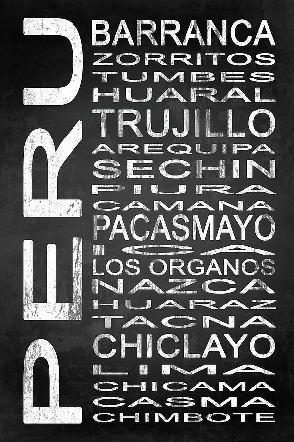 Peru Digital Art - Subway Peru 2 by Melissa Smith