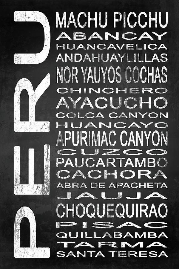 Peru Digital Art - Subway Peru 3 by Melissa Smith