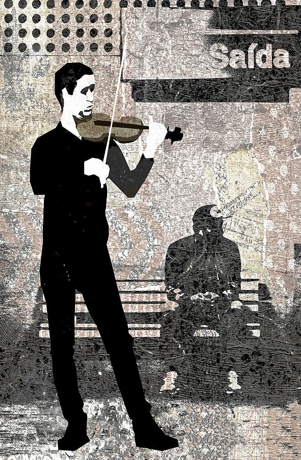 Subway Digital Art - Subway Strings by Regina Wyatt