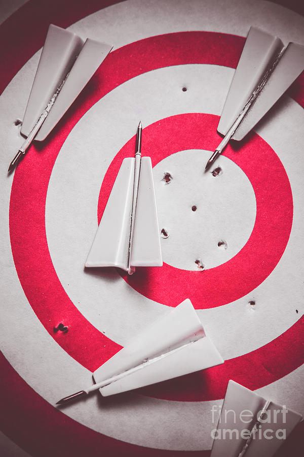 Strategy Photograph - Success And Failures. Business Target by Jorgo Photography - Wall Art Gallery