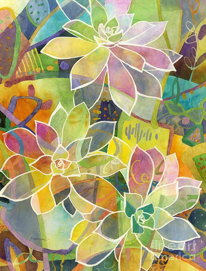 Succulent Mirage 1 Painting