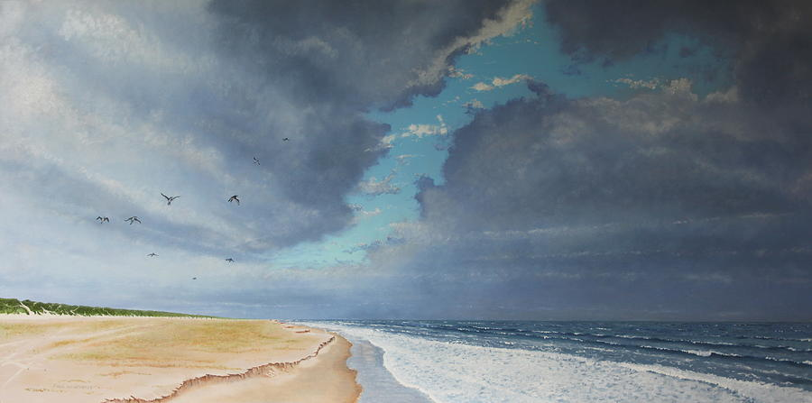 Sky Painting - Sudden Flight by Paul Newcastle