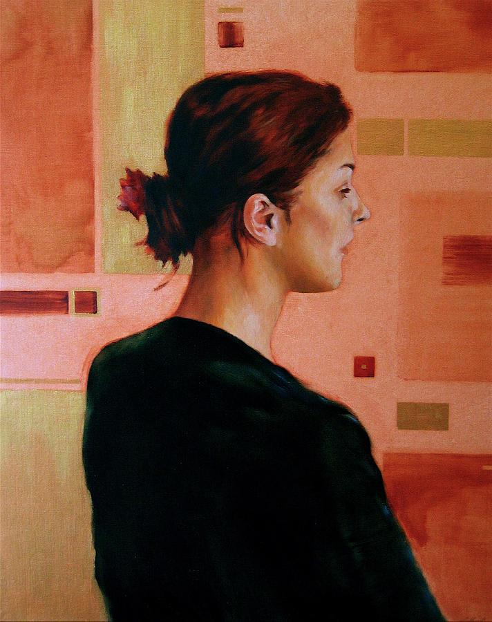 Figurative Painting - Sue by Stuart Gilbert