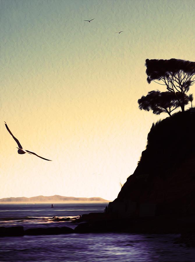 Suenos de Cabrillo Beach. San Pedro, California.  by Joe Schofield