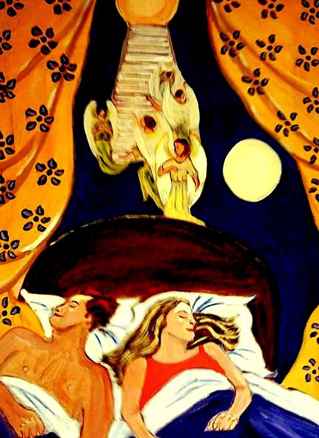 Dreams Painting - Suenos by Rusty Gladdish