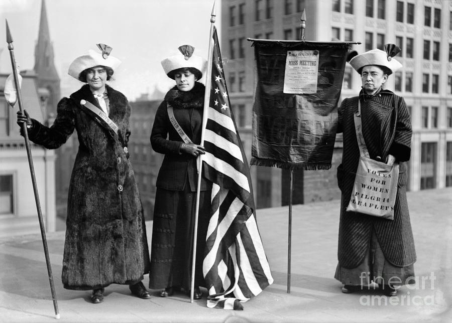 1910 Photograph - Suffragettes, C1910 by Granger