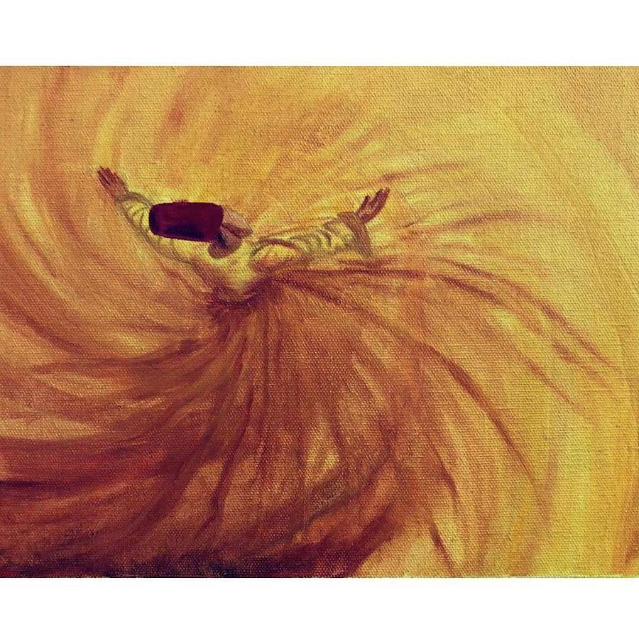 Darwish Painting - Sufi by Karishma Agarwal