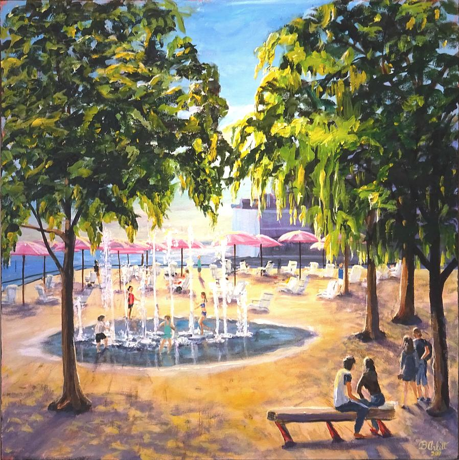 Sugar Beach Afternoon by BRENT ARLITT