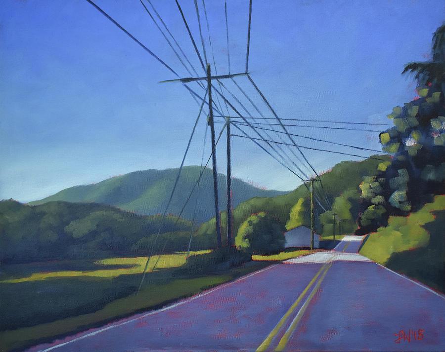 Sugar Grove Painting - Sugar Grove Afternoon by Lauren Waterworth