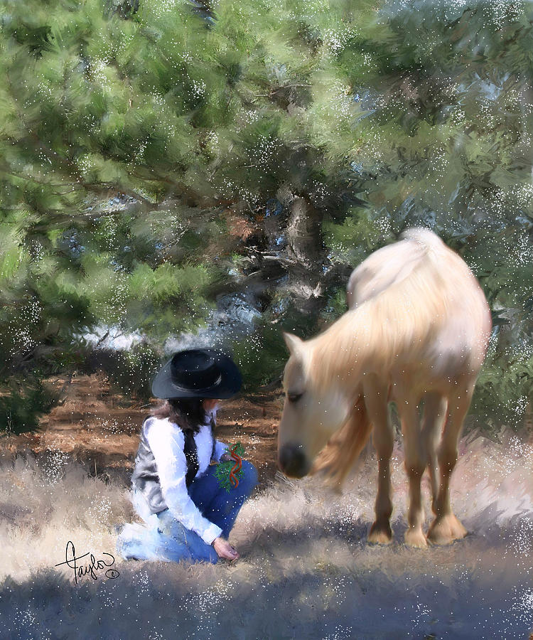 Cowgirl Painting - Sugar N Spice by Colleen Taylor