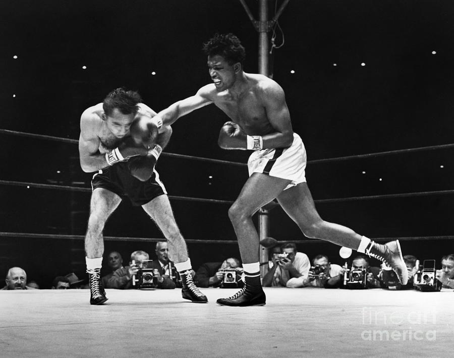 1957 Photograph - Sugar Ray Robinson by Granger