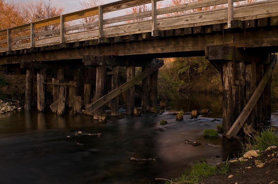 Bike Photograph - Sugar River Trestle Wisconsin by Steve Gadomski