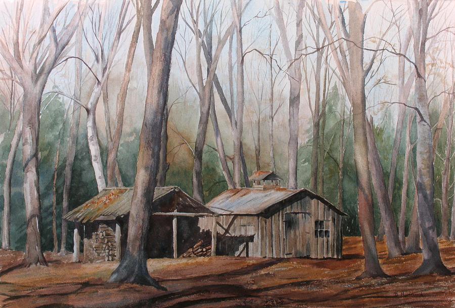 Sugar Shack Painting - Sugar Shack by Debbie Homewood